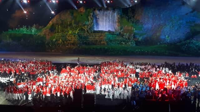 Netizen Puji Pembukaan Asian Games 2018 di Jakarta