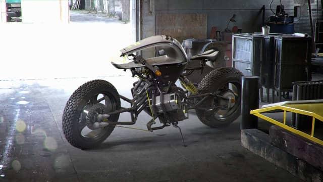 Sasuga, Konsep Motor Listrik yang Terinspirasi dari Film Star Wars