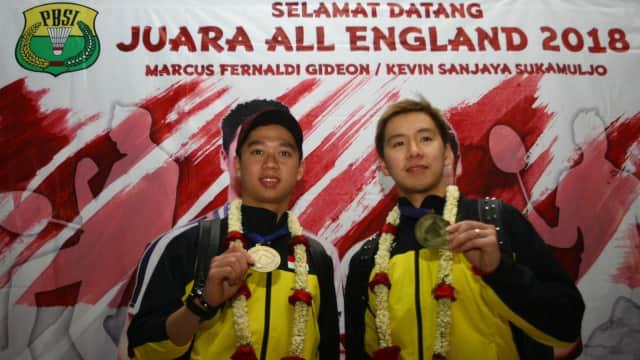 'Ditantang' Jokowi, Marcus/Kevin Optimistis Raih Emas di Asian Games