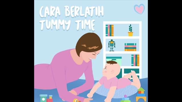 Cara Berlatih Tummy Time