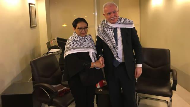Diplomasi RI Soal Yerusalem Diapresiasi Palestina dan Yordania