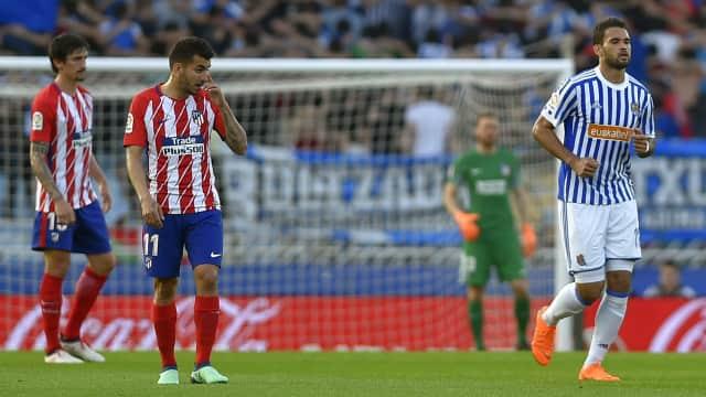 Atletico Madrid Kalah 0-3 di Kandang Real Sociedad