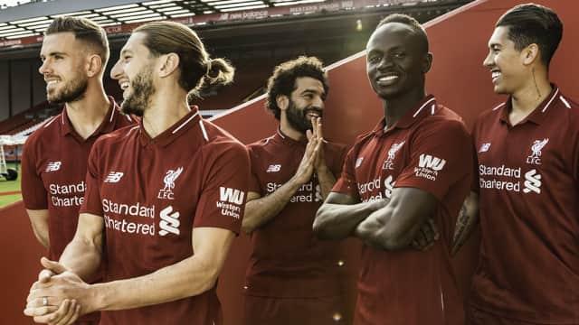 Liverpool Perkenalkan Seragam untuk Musim Depan
