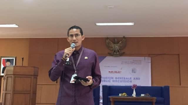 Sandi: Sistem Ganjil-Genap Bisa Perbaiki Kualitas Udara Jakarta