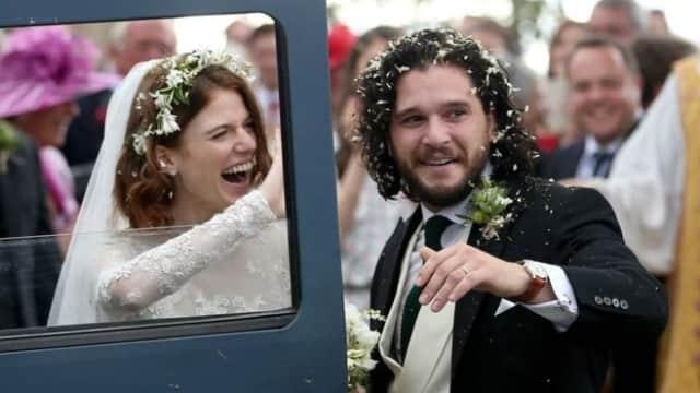 Pasangan Cinlok 'Game of Thrones' Kit Harington-Rose Leslie Menikah