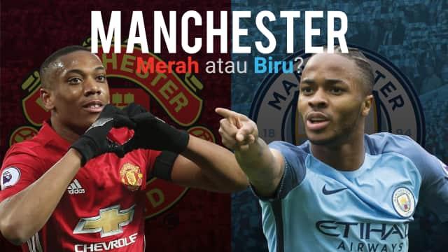 Kota Manchester Pekan Ini, Merah atau Biru?