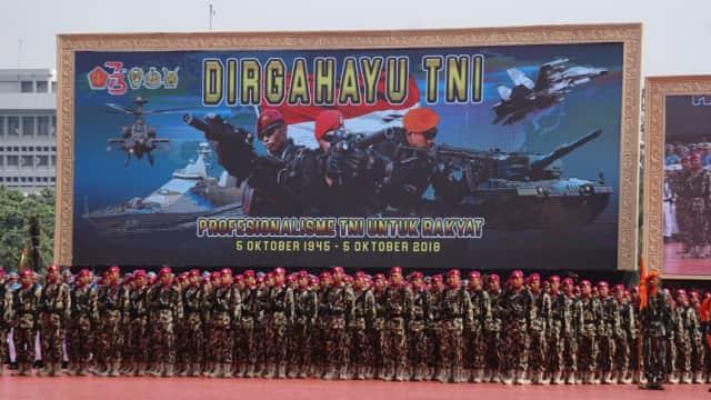 Jokowi Akan Pimpin Upacara HUT ke-73 TNI di Cilangkap