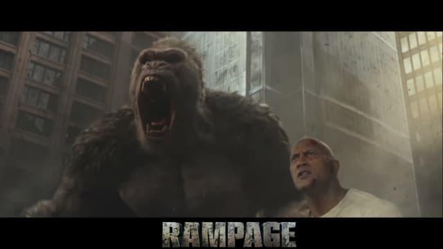 Review 'Rampage': Film Adaptasi Game yang Menyenangkan