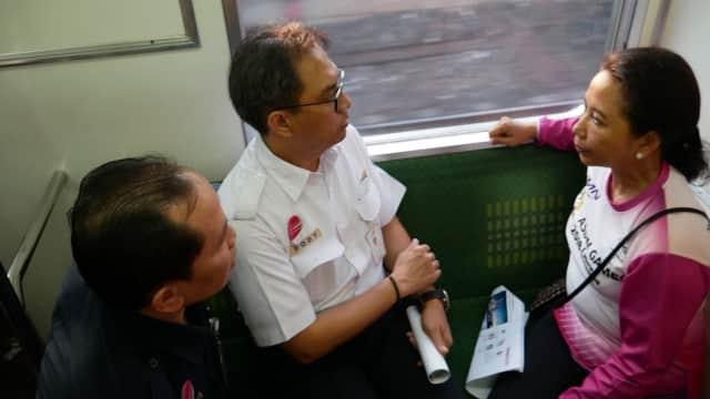 Rini: Kalau Jalur KRL Bersih, Penumpang Lebih Nyaman