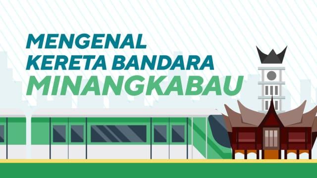 Infografik: KA Bandara Minangkabau yang Termurah di Indonesia