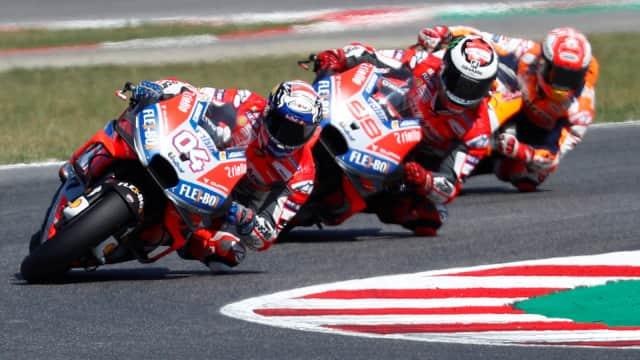 Di Belakang Duo Ducati, Marquez Cuma Bisa Jadi Pengekor