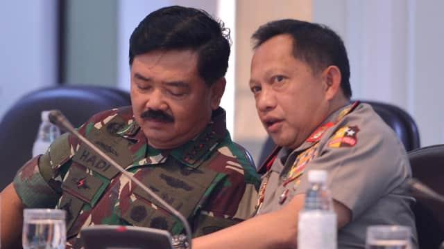 Panglima TNI Tegaskan Sinergi dengan Polri dalam Berantas Teroris