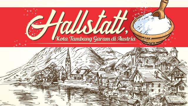 Infografik: Hallstatt, Kota Tua Penghasil Garam di Austria