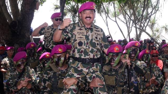 Marsekal Hadi Minta Personel TNI Tak Sembarang Sebar Berita di Medsos