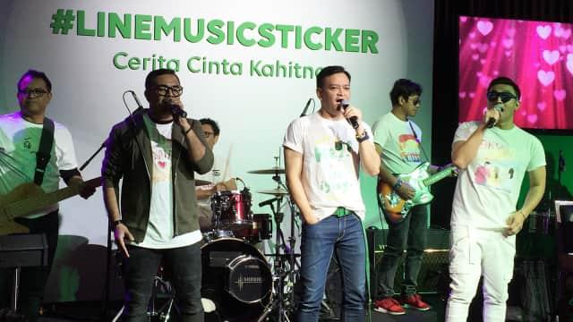 Nyanyikan Perasaanmu dengan Stiker Lagu Persembahan LINE Indonesia