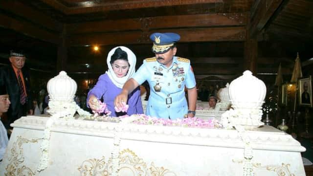 Panglima TNI: TNI Akan Melanjutkan Nilai yang Ditanamkan Soeharto