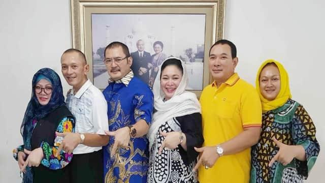 Tutut, Sigit, Bambang, dan Mamiek Soeharto Gabung ke Partai Berkarya