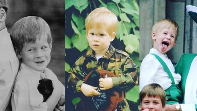 Foto: Potret Masa Kecil Pangeran Harry yang Menggemaskan