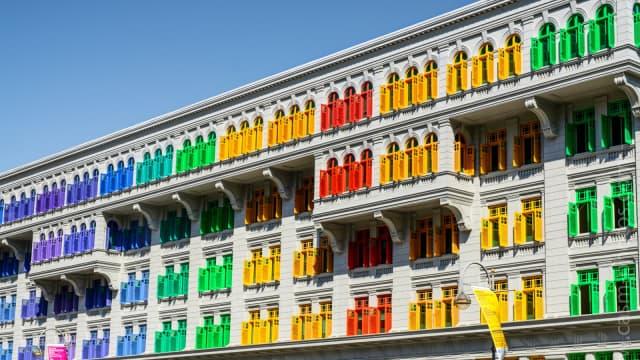 Mengintip Gedung Pemerintahan di Singapura yang Penuh Warna