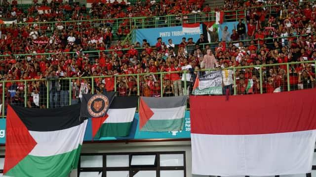 Rakyat Palestina Turut Rayakan HUT ke-73 RI di Gaza