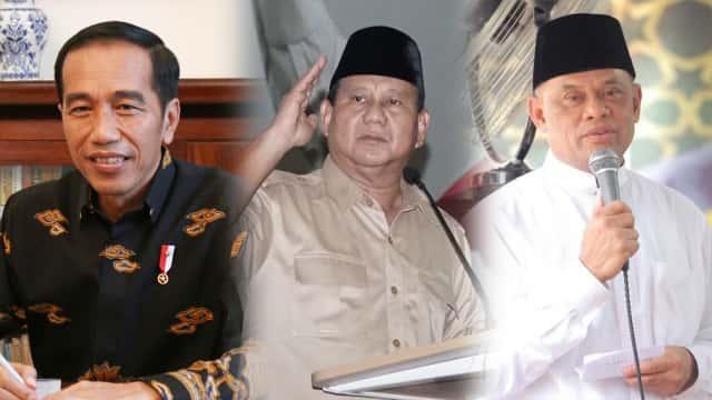 Indo Barometer: Jokowi 48,7%, Prabowo 20,5%, Gatot 5,4%