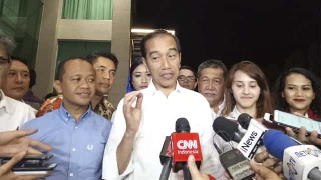 Jokowi Ingatkan Timses Tak Serang Lawan Secara Personal