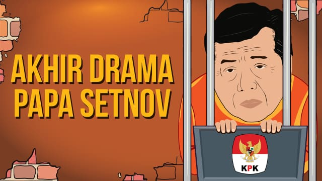Akhir Drama 'Papa' Setnov