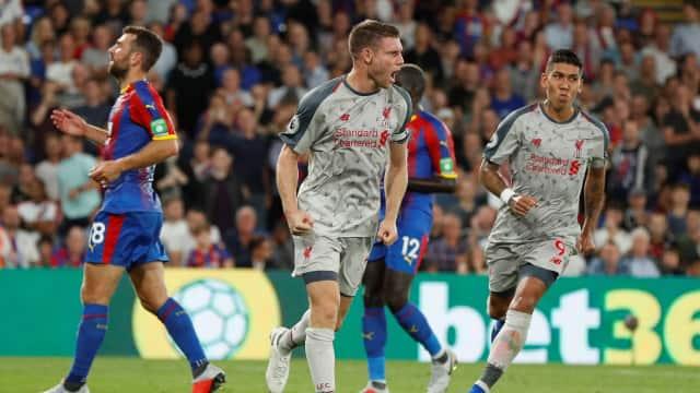 Liverpool Sukses Kandaskan Perlawanan 10 Pemain Crystal Palace