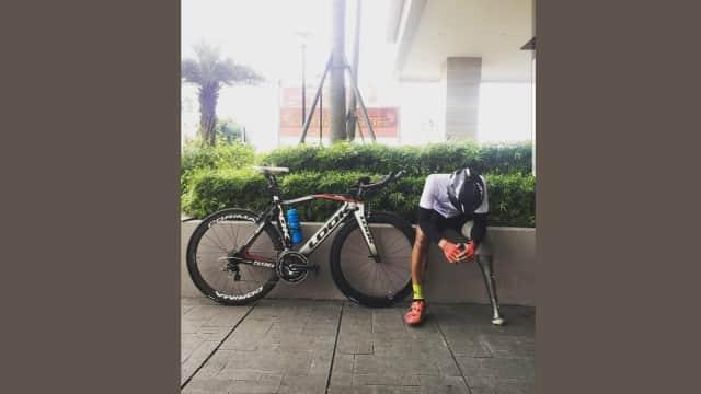 Kisah Fadli: Pebalap Motor, Kecelakaan, Bangkit Jadi Atlet Paracycling