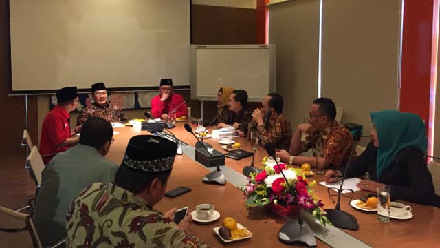 DPP PDIP Silaturahmi dengan Pimpinan ICMI