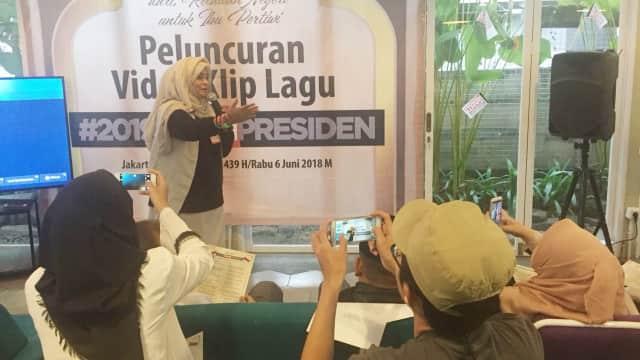 'Tidak Ada Unsur Ujaran Kebencian dalam Lagu 2019 Ganti Presiden'