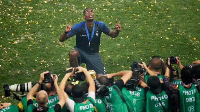 Memori Pogba Bersama sang Ayah Merasuk di Piala Dunia 2018
