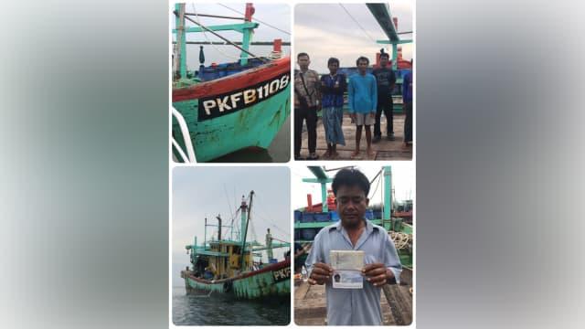 Polisi Tangkap Kapal Asing Pencuri Ikan di Aceh