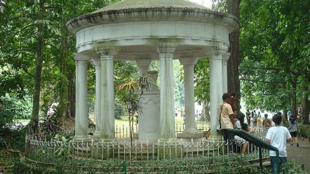Bukti Cinta Stamford Raffles pada Sang Istri di Kebun Raya Bogor