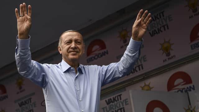 Erdogan Pimpin Perolehan Suara Sementara dalam Pilpres Turki
