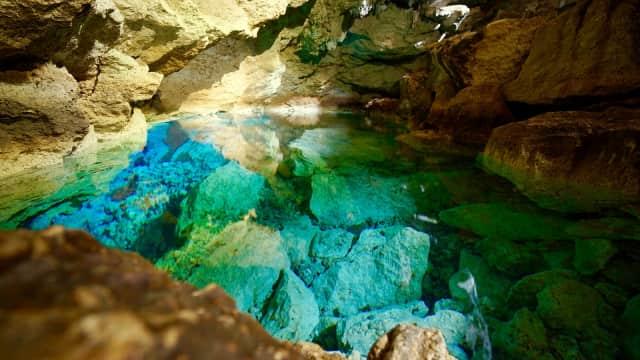 Menengok Mata Air Biru nan Bening di Gua Kristal, Kupang
