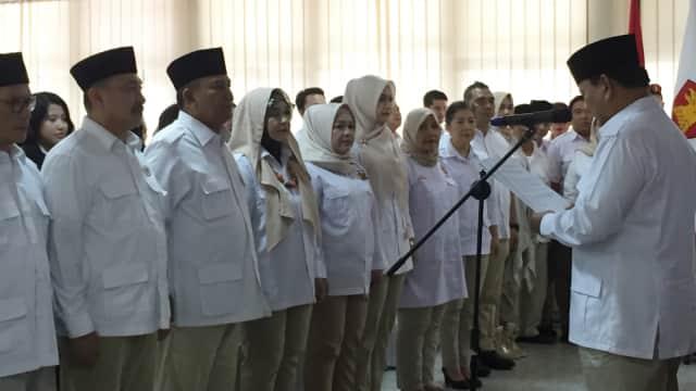 Prabowo Tunjuk Pensiunan Jenderal TNI Pimpin Gerindra Jabar