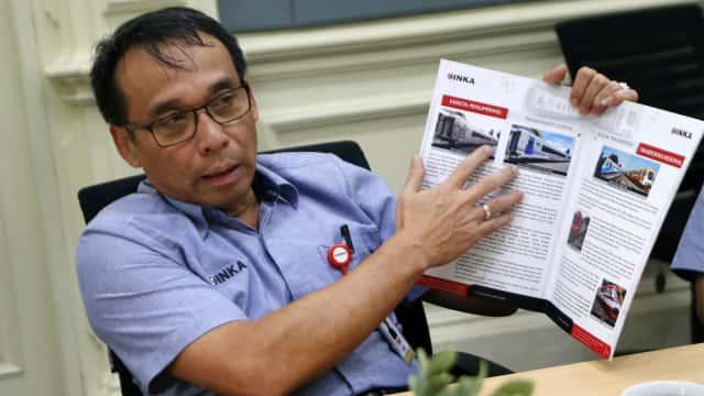 Dirut INKA Beri Penjelasan Soal Mogoknya LRT Palembang