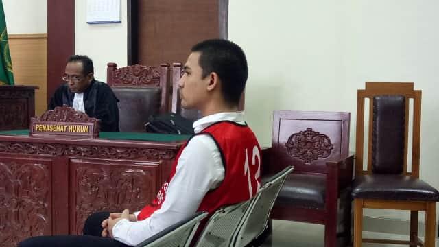 Axel Matthew Thomas Dituntut 6 Bulan Penjara di Kasus Narkoba