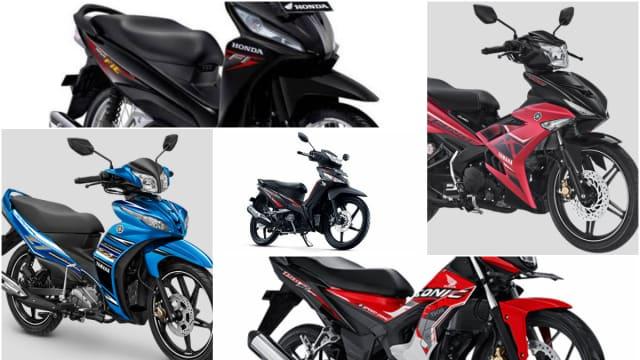 5 Motor Bebek yang Masih Jadi Primadona Konsumen Indonesia