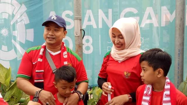 Pintu Masuk Stadion Tidak Jelas, Penonton Timnas U-23 Kebingungan