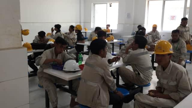 PT IMIP Sediakan 2 Kantin Berbeda bagi TKA China dan Pekerja Indonesia