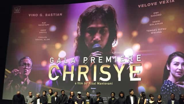 Gala Premier Film 'Chrisye' Berlangsung Meriah