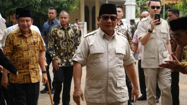 Tanggapan Prabowo Subianto Soal Debat Pakai Bahasa Inggris