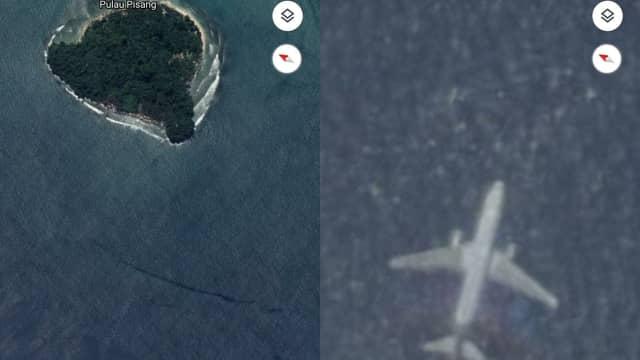 Heboh Gambar Pesawat Jatuh di Google Maps, Ini Penjelasan Basarnas