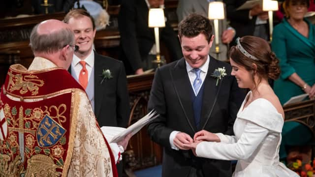 Alasan Suami Putri Eugenie Tak Kenakan Cincin Kawin