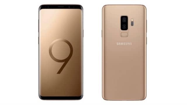 Samsung Jual Ponsel Galaxy S9 Plus Warna Emas di Indonesia