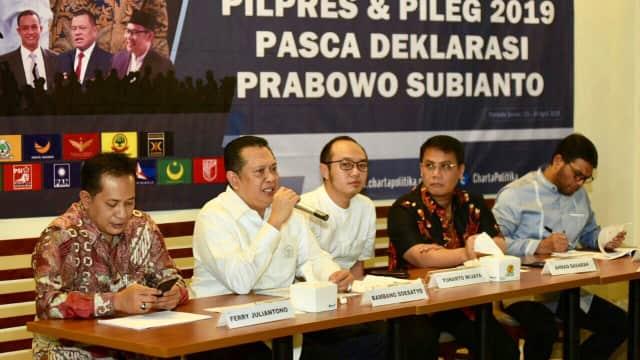 Konstelasi Politik antara Prabowo dan Jokowi pada Pilpres 2019