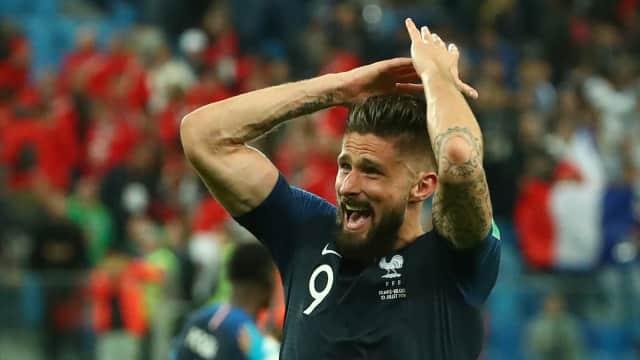 Menelaah Peran Giroud: Tak Bikin Gol, tapi Penting untuk Prancis