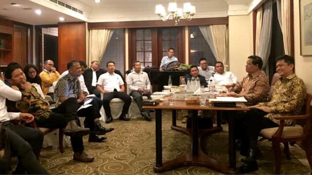 Kubu Daryatmo Sebut OSO Kantongi SK Kumham Karena Dekat Dengan Jokowi